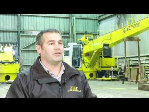 Offshore Pedestal-Mounted Cranes by EBI Cranes, LLC