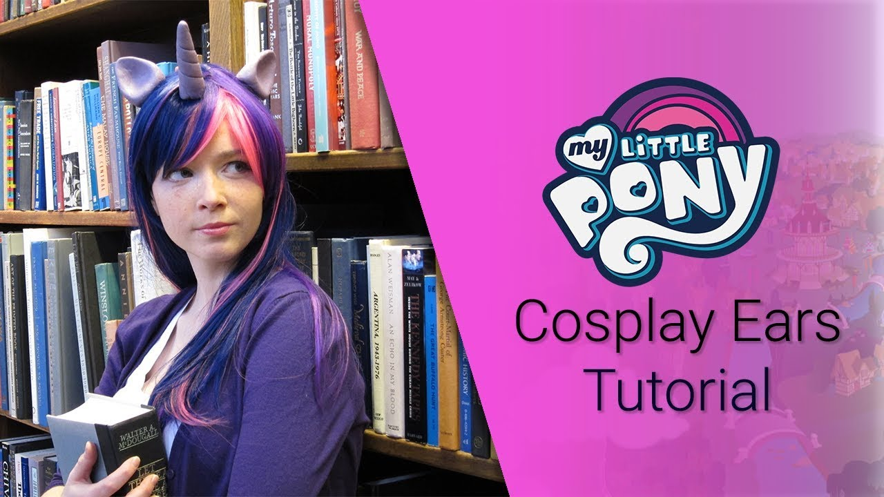 Vaporeon Cosplay Ears My Little Pony cosplay Pony