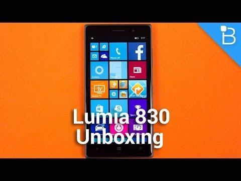 Nokia Lumia 830 Unboxing (2)