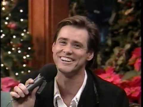 Jim Carrey Sings White Christmas - FUNNY!!