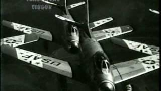 archival footage of the '55 USAFE Skyblazers