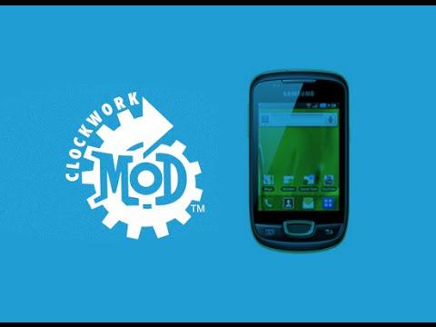 Tutorial Instalación de Clockworkmod Recovery y custom rom Samsung Galaxy Mini GT s5570