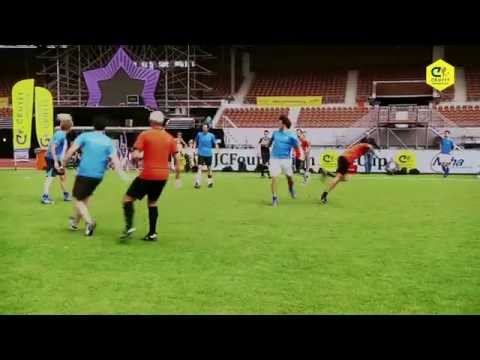 Every year the big event. Play a game with or against Johan Cruijjf. Touzani played with Johan in one team. This is his best goal ever! Foundation Cup 2014 Olympic stadium - Amsterdam Cruyff...