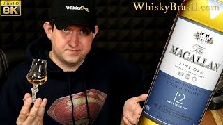 Whisky Brasil 268: Macallan Triple Cask 12 - Fine Oak - Review [8K]