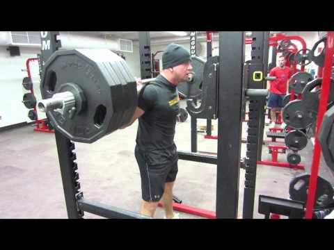 500x15 Squats (no belt or wraps) Image 1