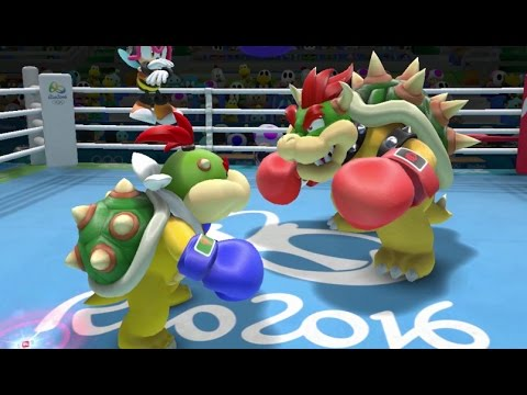 Mario & Sonic at the Rio 2016 Olympic Games - Boxing (Gameplay with All Characters)
