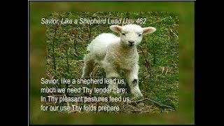 Savior, Like a Shepherd Lead Us (piano)