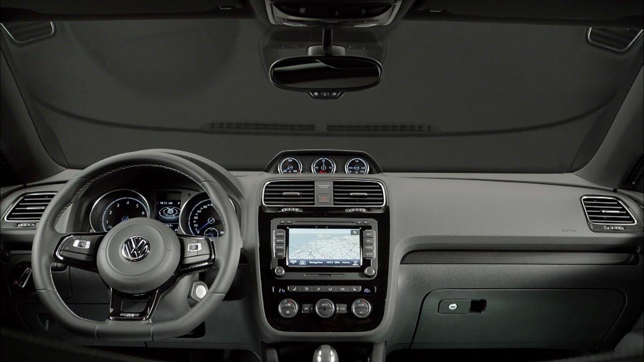 volkswagen scirocco  interior youtube