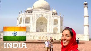 Taj Mahal in Agra & Sightseeing in Delhi - India (pt.1/3) || AUDVENTURES
