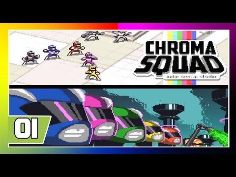 Chroma Squad -  Temporada 1 - Ep 1 - Raio Privatizador!!! [PT-BR]