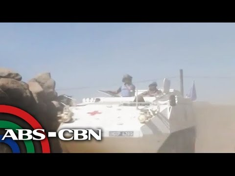 Pinoy peacekeepers in stand-off against Syrian rebels