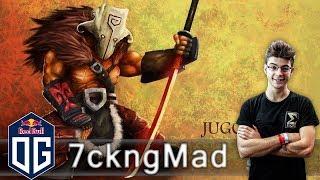 OG.7ckngMad Juggernaut Gameplay - Ranked Match - OG Dota 2.