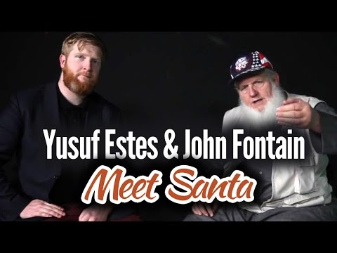 The Xmas I Never Forgot! Yusuf Estes & John Fontain meet Santa