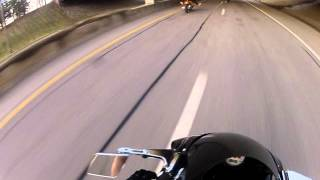 I-89 live motorcycle crash at 100+ mph!!!
