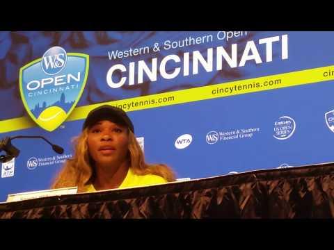 Serena Williams First Time Cincinnati Win