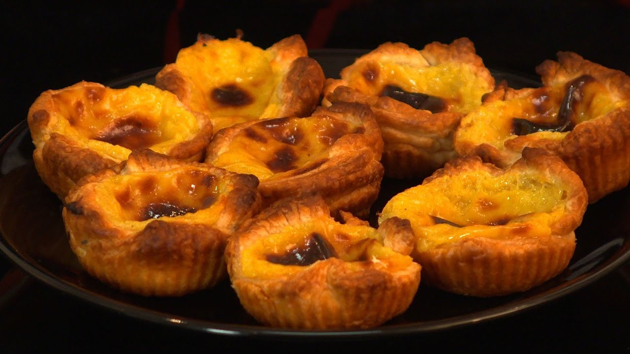 recette portugaise pasteis de nata youtube. Black Bedroom Furniture Sets. Home Design Ideas