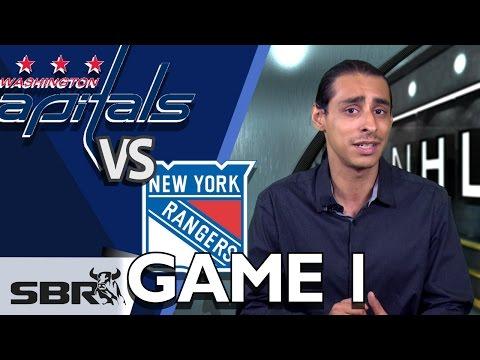 Capitals vs Rangers Series Opener NHL Picks