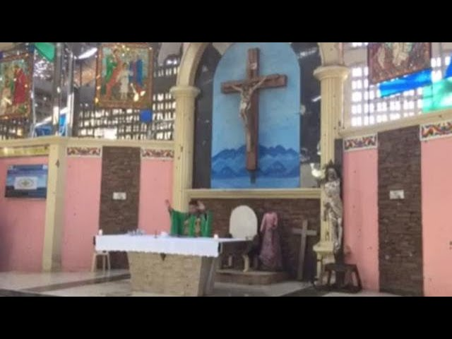 Sound of bombs, gunfire blends with Marawi Mass hymns