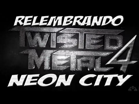 (só gameplay) Twisted metal 4: Neon City
