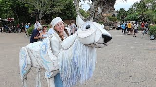 Christmas Is Amazing At Disney's Animal Kingdom!! | Characters in Holiday Outfits, Food & Puppets!!