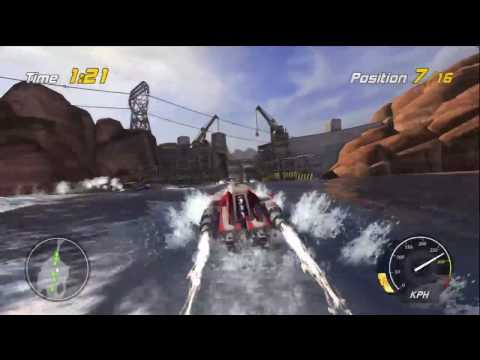 Hydro Thunder Hurricane: Special Delivery - Lake Powell Crates