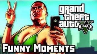 GTA 5 Funny Moments Ep. 3 (Banana Bus, Stunts, and Charlie Sheen)