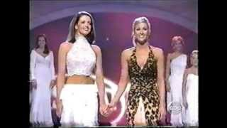 Miss America 2005- Crowning: Deidre Downs, Miss Alabama
