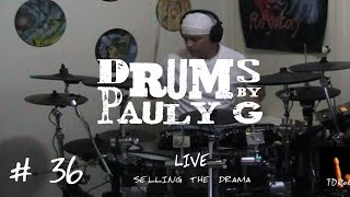 Live - Selling The Drama (Drum Cover) by Paul Gherlani