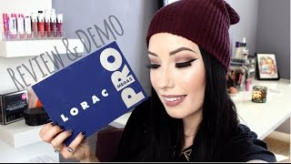 REVIEW + TUTORIAL + SWATCHES: LORAC MEGA PRO 2 Palette (Holiday 2015) | lesleydoesmakeup