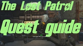 Fallout 4 - The Lost Patrol Quest Guide