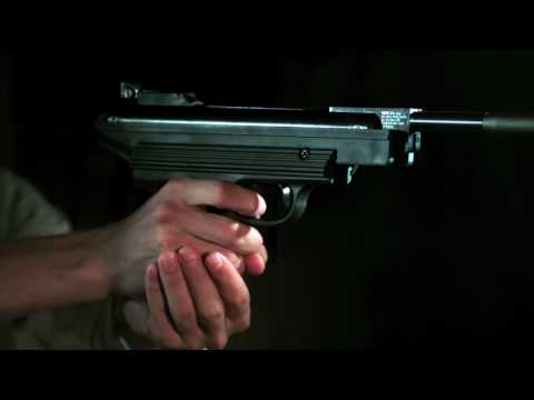 Browning 800 Express Pellet Pistol: Slow Motion