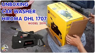 máy rửa xe áp lực cao HIROMA DHL 1707