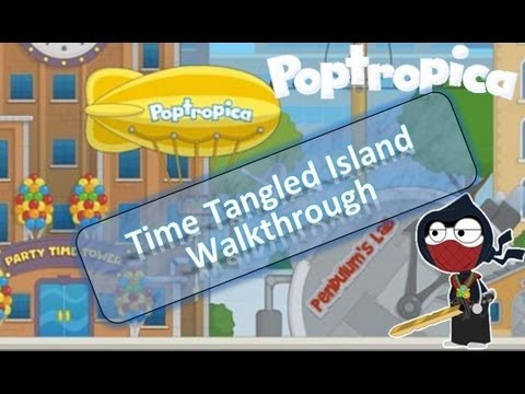 Poptropica Time Tangled Island Walkthrough | by LoudSeal the Time Traveler