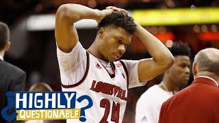 Louisville somehow gives up 5 points in final second to lose | Highly Questionable | ESPN