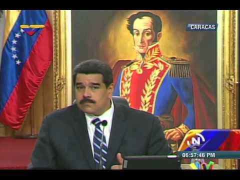 Rueda de prensa completa del Presidente Nicolas Maduro, 30 diciembre 2014