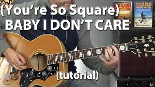 Watch Elvis Presley youre So Square Baby I Dont Care video