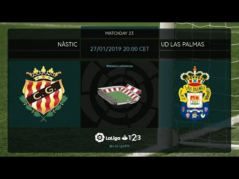 Nástic - UD Las Palmas MD23