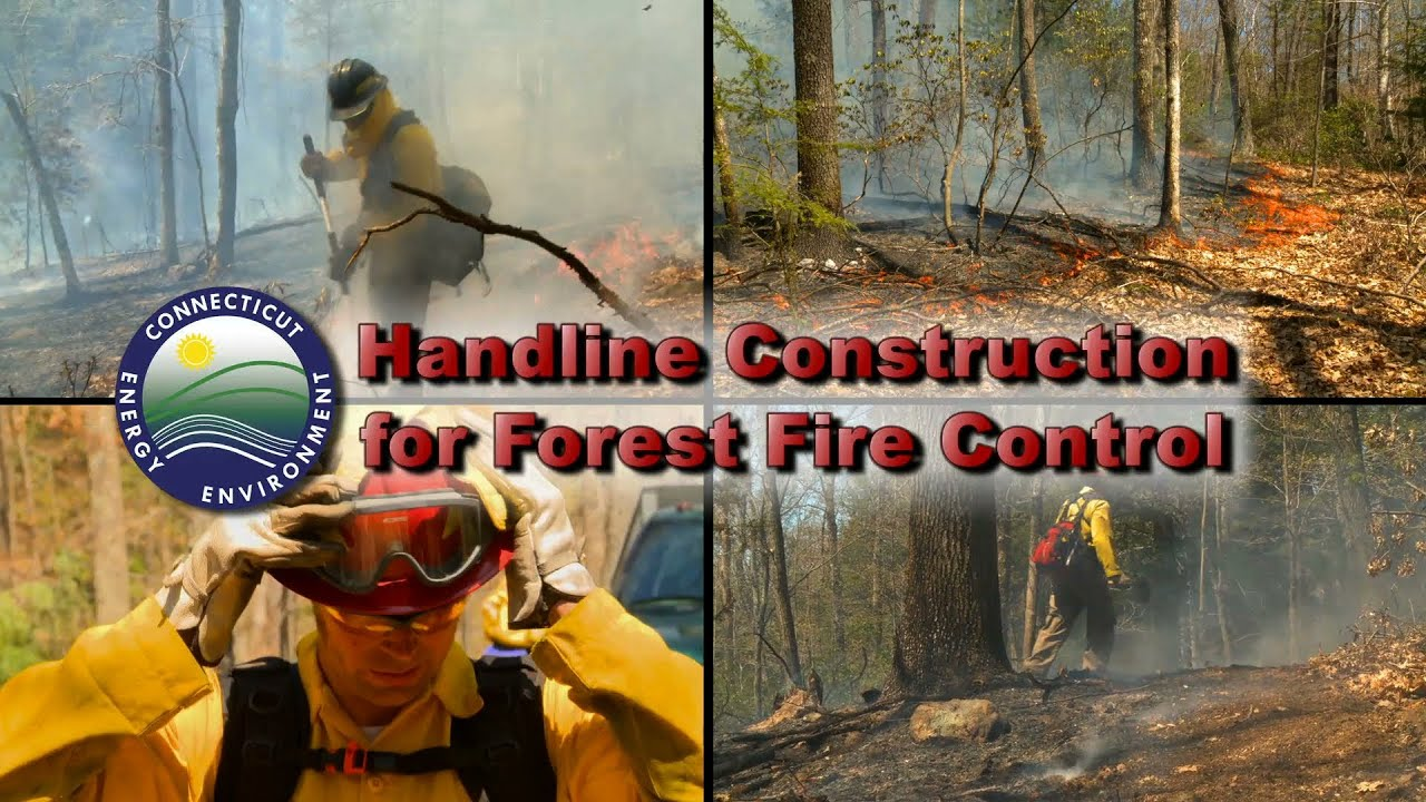 Handline Construction for Forest Fire Control