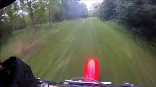 Late Night Honda Cr 250 Ride!!!