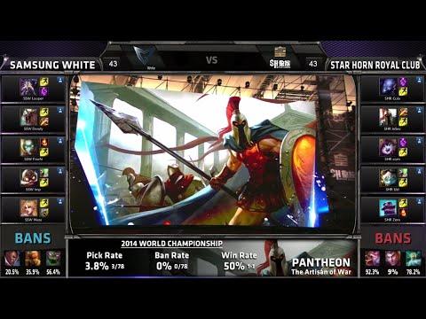 Samsung White vs Royal Club | Worlds Finals Game 4 S4 LOL 2014 Playoffs | SSW vs SHRC G4 Full