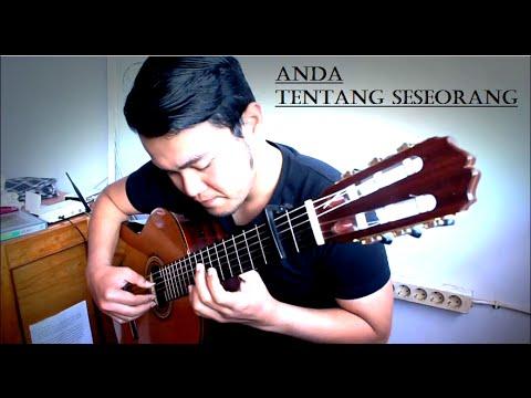 Anda - tentang seseorang   OST. AADC - Solo Guitar Cover