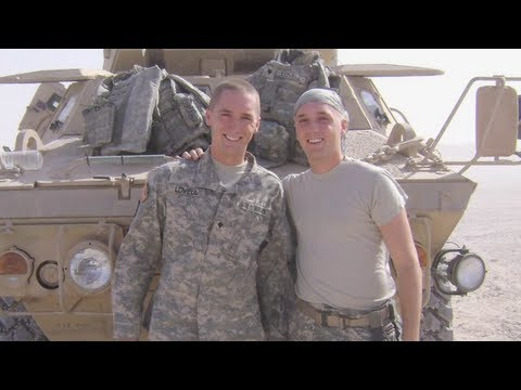 Eli and Seth Lovell - Twin Brothers and Veterans Who Support President Obama