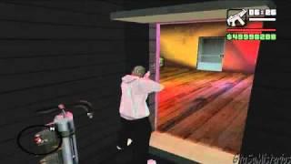 GTA San Andreas Como entrar a la Casa de Og Loc por el inframundo