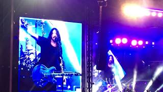 Foo Fighters bring Pierce on stage Again! Plays Big Me in Atlanta 4-28-18