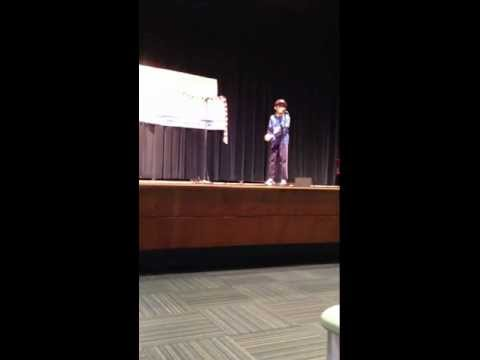 Arnav Kankaria Of Stamford, Ct Reciting Hindi Poem In  Usa Kavta Pratiyogita video