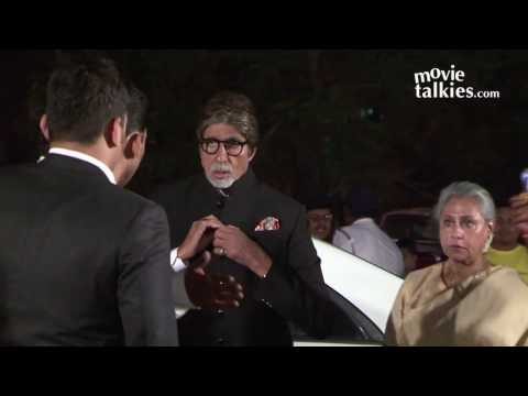 Amitabh Bachchan And Rekha Together At Ronnie Screwvala's Daughter Wedding Reception thumbnail