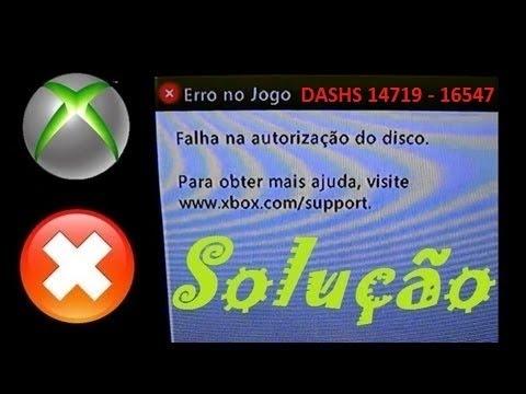 XBOX360   SOLUÇÃO PARA