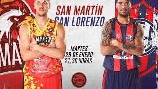 Сан Мартин К : Сан Лоренсо
