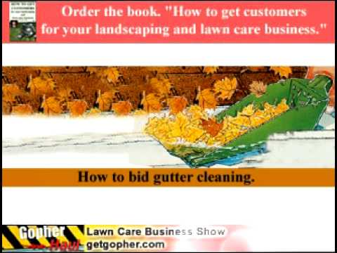 How to estimate gutter cleaning - GopherHaul Lawn Care Business Marketing Podcast