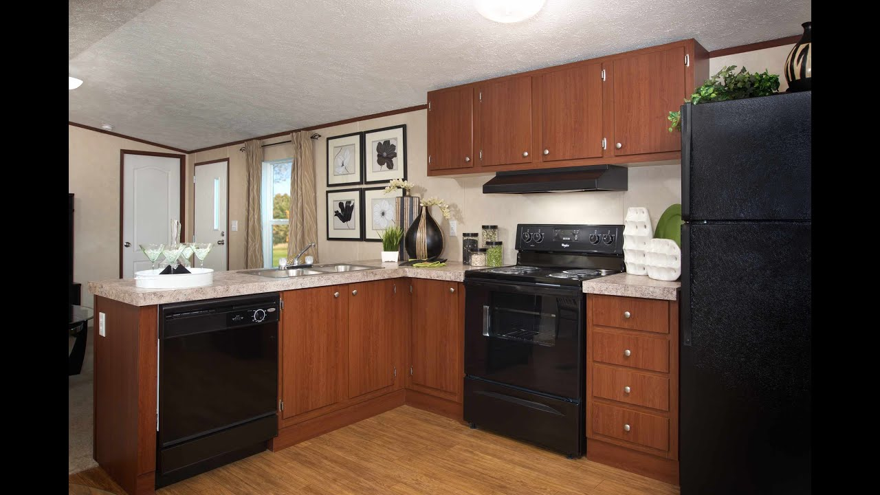 Mibile Home Double Wide Kitchen Remodel